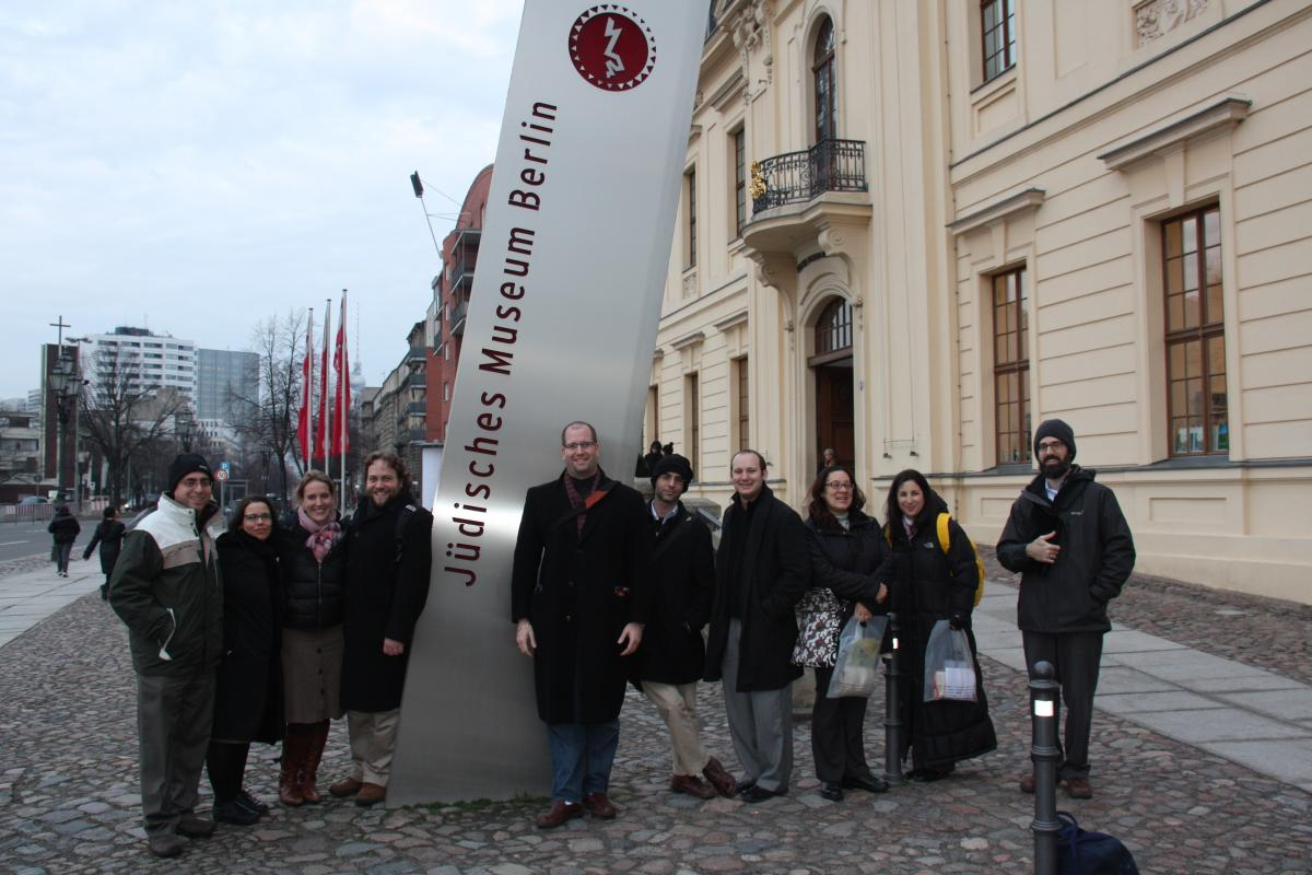Group at Berlin Jewish Museum