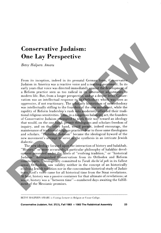conservative judaism The history of the masorti foundation the masorti foundation for conservative judaism in israel, a national organization based in new york city, works to ensure a pluralistic, egalitarian, and fully democratic israel.