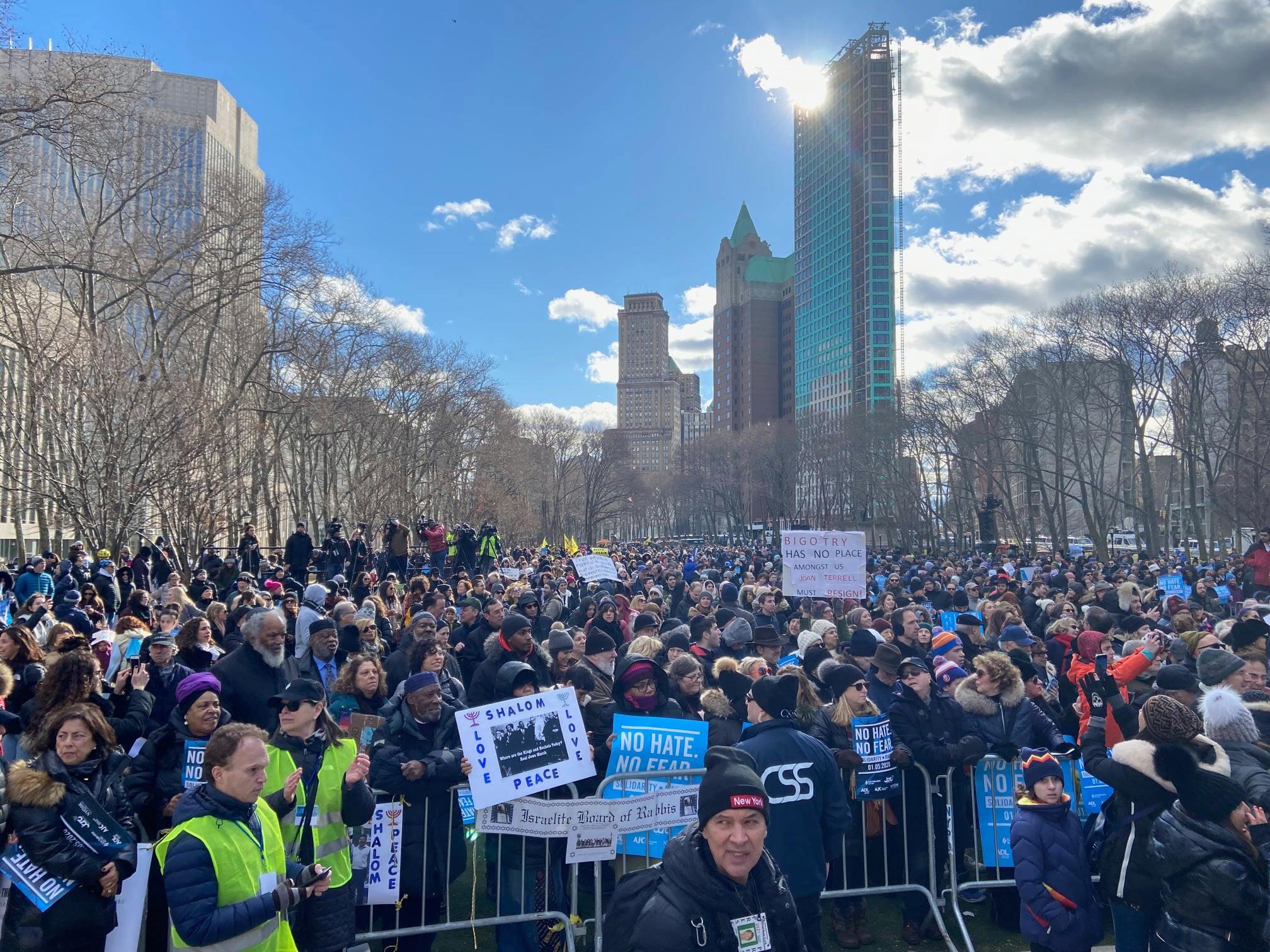 No Hate No Fear March