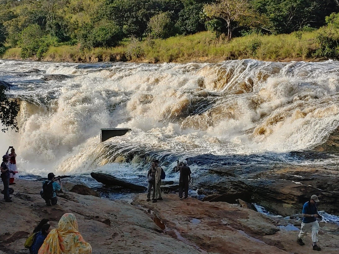 The power of Murcheson Falls