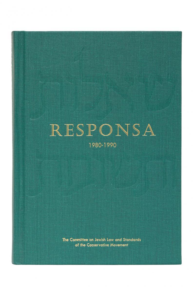 Responsa 1980-1990