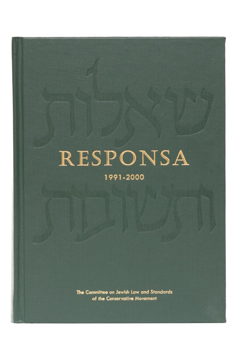 Responsa 1991-2000
